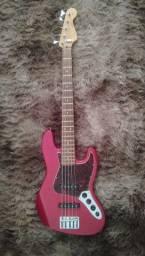 Baixo Fender Deluxe V MI 2002