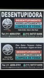 Desentupidora de Esgoto 24h Grande São Paulo