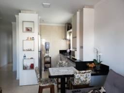 Apartamento dois quartos com suíte, semi mobiliado no Pagani