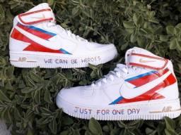 Tênis Nike Air - David Bowie Heroes Nº 39