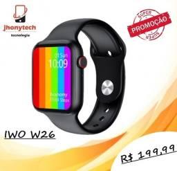 Smartwatch IWO W26 Bluetooth com Monitor de Pressão Arterial