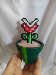 Vaso hama Beads (pixel art)