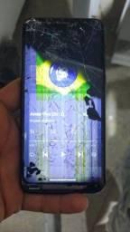 Motorola one 64 gb display quebrado