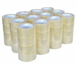 Fita Adesiva Transparente 20 rolos 48 x 100 Metros Direto de Fabrica.
