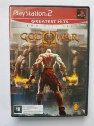 God Of War 2 - Ps2 - Dois Discos - Original Completo