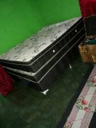 Cama box mola ensacada 400 reais