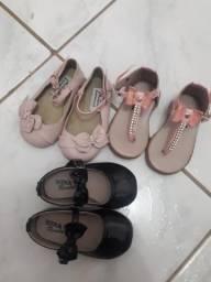 Sapatos de festa infantil feminino
