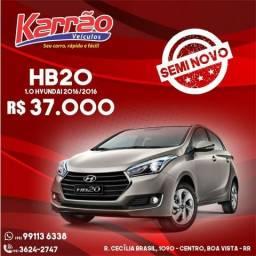 Hyundai HB20 1.0 Comfort; 2016/2016 - 2016
