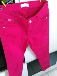 Calça rosa Marfinno