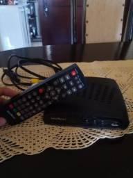 Conversor tv com controle