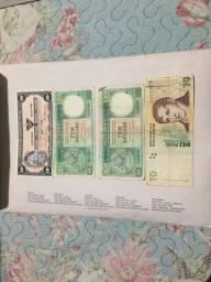 Sédulas de dinheiro Exterior