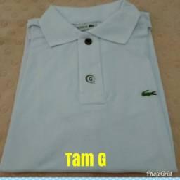 Camisa gola polo masculino
