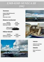 Aeronave Seneca III - 1992