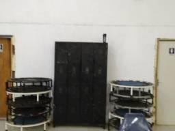 Armário de academia