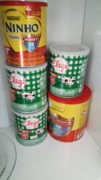 Vendo latas para decoração