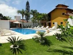 Casa na praia com piscina aquecida, 2 spar, sauna, salão de jogos, ar condicionado