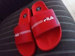 Sandália feminina vermelha