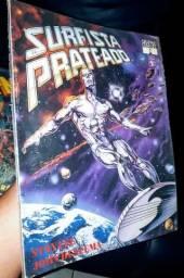 Surfista Prateado - Graphic Marvel 9 ano de 1991.
