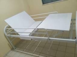 Cama hospitalar duas manivela