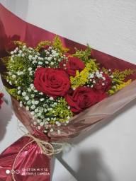 Buquê de Rosas para presente de Aniversário