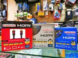 Cabos HDMI 2.0 30m 20m e 15m 4K e 3D