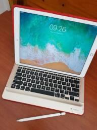 IPad Pro 12.9 128gb + 4G + Apple Pencil + 3 mil em Acessórios originais Apple