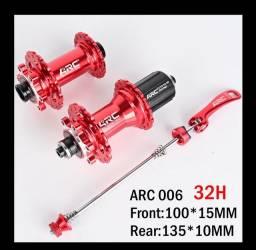 Cubo rolamentado roda ARC 32 furos, lacrado!