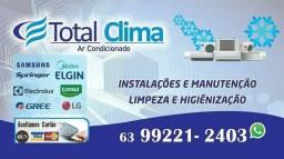 Instalação, Manutenção, Limpeza e Higienização de Ar Condicionados