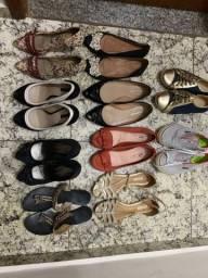 Oportunidade! Lote de sapatos TUDO POR 80,00!!!!