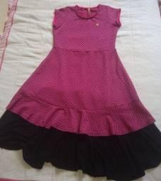 Vestido infantil tam: 12