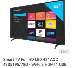 Televisão SmarTV 43 polegadas