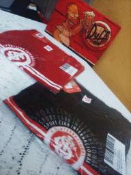 Camisetas casuais clube internacional!!