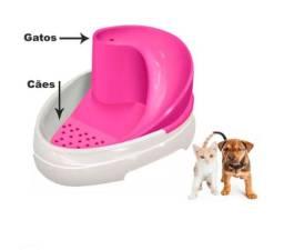 Bebedouro Tobo Fonte Automático Cães Gatos Cachorro Bivolt