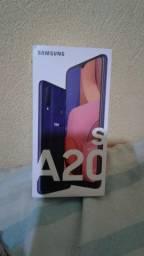 Samsung a20s novo na caixa lacrado