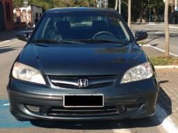 Honda Civic Sedan 1.7 - Gasolina - Cinza Escuro - 4 portas - Câmbio Manual