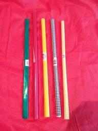 Rolo plástico 2 mt ( 5 unidades)
