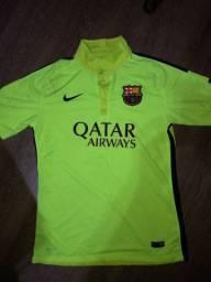 Camiseta barcelona 2014 versao jogador Neymar