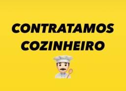 CONTRATAMOS COZINHEIRO