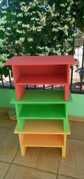Bancos de artesanato para jardins ou decoração de ambientes