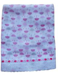Toalha Fralda Estampada Luxo 100% algodão 70 x 110 cm Kit Com 2 unidades