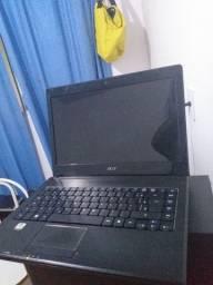 Notebook Acer Funcionando 4gb memoria