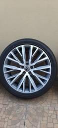 Roda aro 18 5x100 com pneus