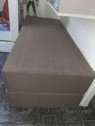 Cama box King Size semi nova