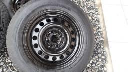vendo rodas de ferro 14  4×100 ou troco por cllr