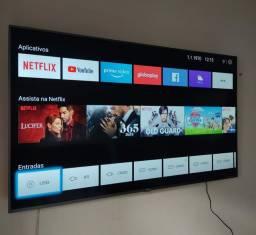 Vendo tv 60 smart 4k ultra HD novinha