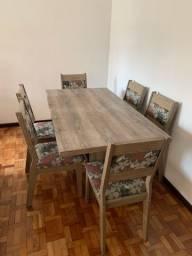 Mensa de Jantar 6 cadeiras