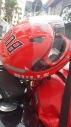 Vendo capacete norisk 61cm