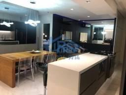 Apartamento com 2 dormitórios à venda, 81 m² por R$ 816.000 - Alphaville Empresarial - Bar