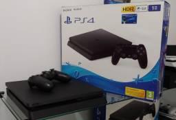 Playstation 4 Ps4 Slim 1TB Jet Black / Troco / Parcelo