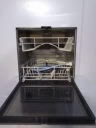 Lava louças enxuta automática funcionando sem garantia